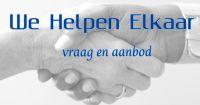 We Helpen Elkaar