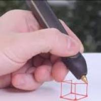 3-D pen Workshop samen lampen maken in Berckelhof